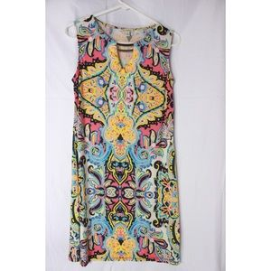 Womens Haani Multicolored Dress Size Medium